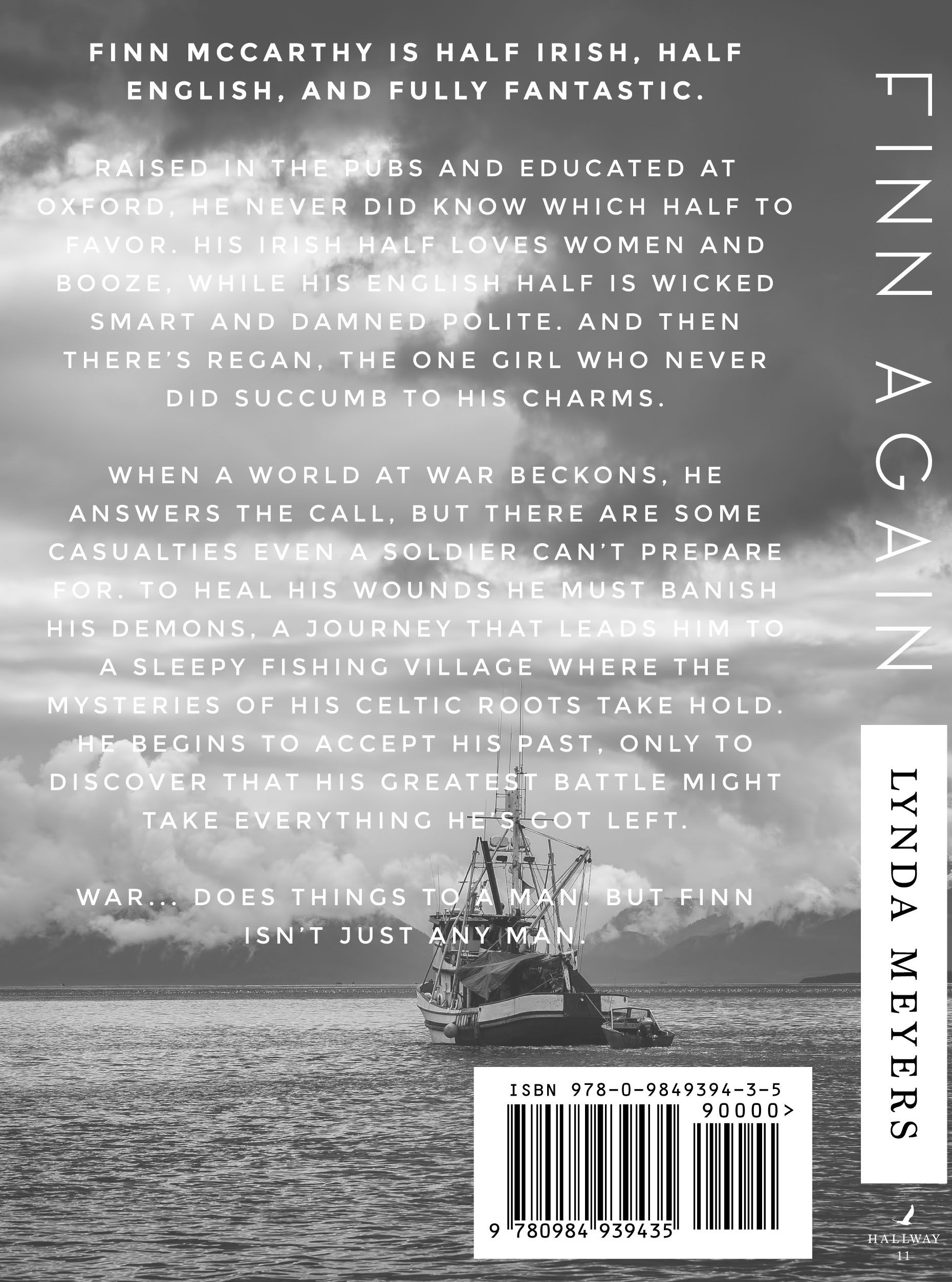 Finn Again is a refreshingly honest, deeply moving tale of one man's journey down a path he never intended, searching for a life he never knew he wanted. Available in paperback or on Kindle.