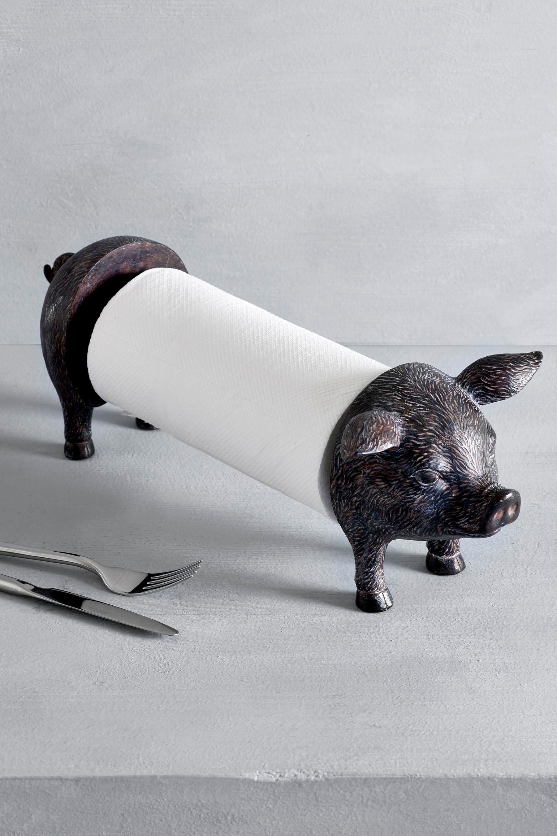 Buy Pig Kitchen Roll Holder from the Next UK online shop