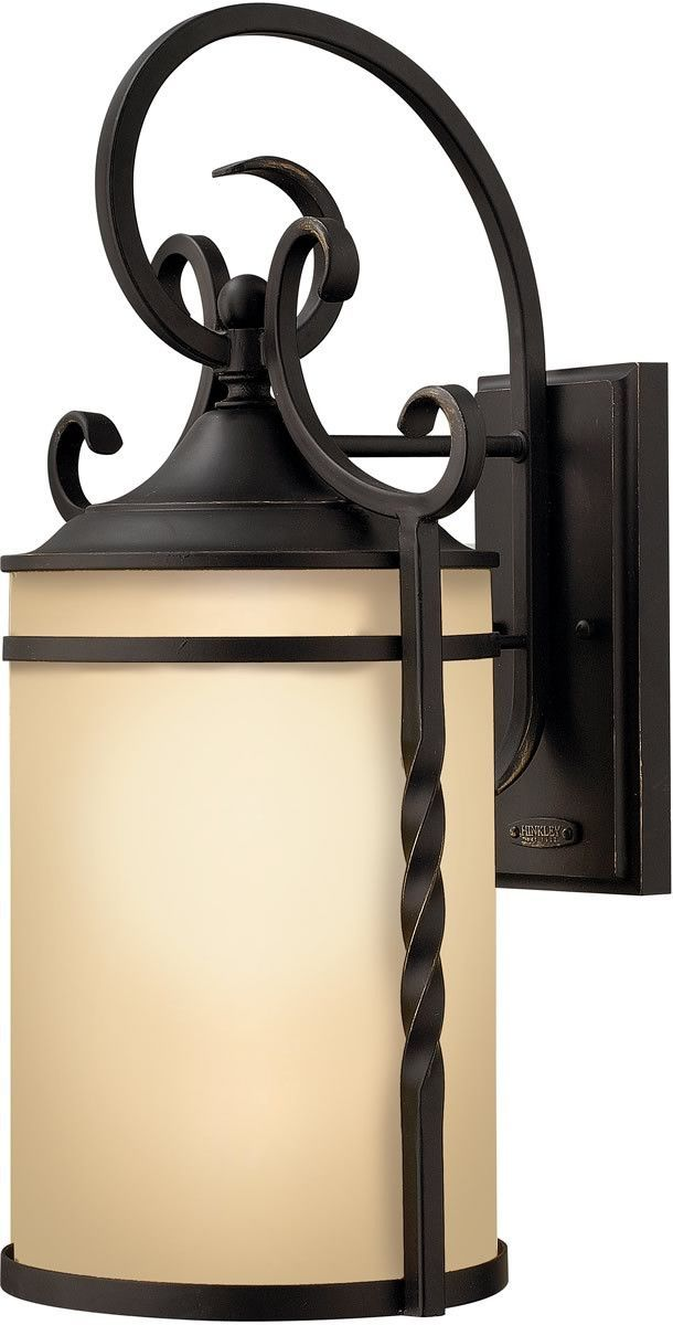 "0-066840>21""""h Casa 1-Light Wall Outdoor Olde Black"