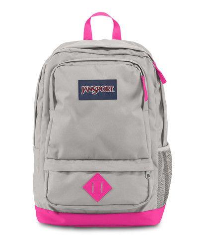 Pink And Gray Jansport Backpack | Frog Backpack