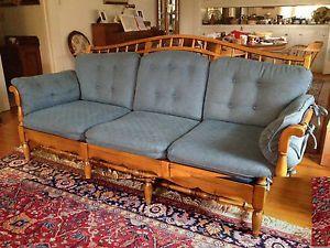 Ethan Allen Spindle Back Sofa