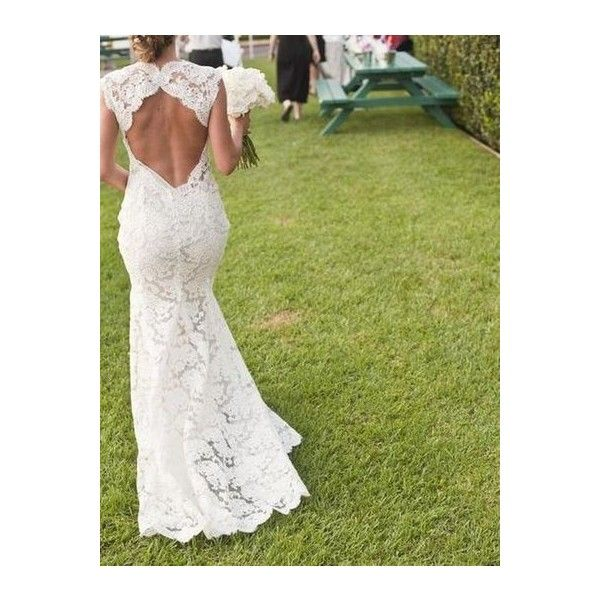 MONIQUE LHUILLIER SCARLET Backless wedding gown low back bride ...