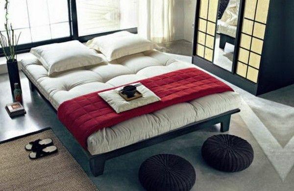 feng shui schlafzimmer einrichten asiatischer stil zimmerpflanzen - feng shui schlafzimmer