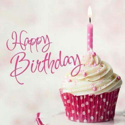 Pinker Cupcake Geburtstag Pinterest Birthday Happy Birthday