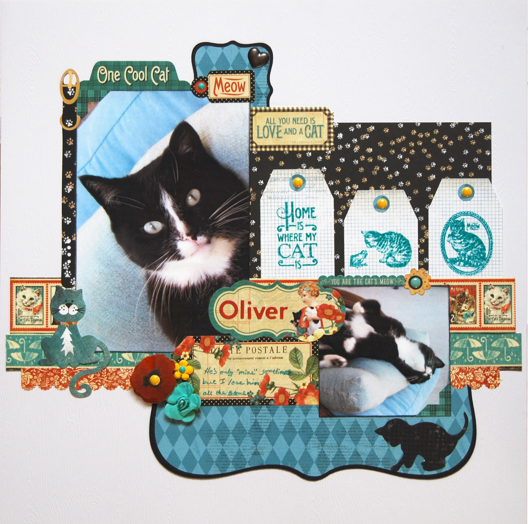 Oliver Graphic 45 Raining Cats And Dogs Collection Andere