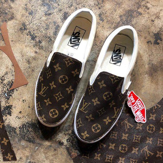 Vans custom Louis Vuitton lv slip on