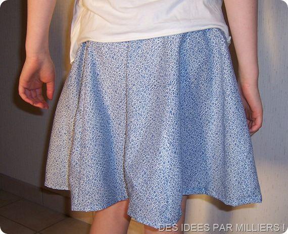 Une jupe facile : Mode demploi ! – Des Idées Par Milliers !