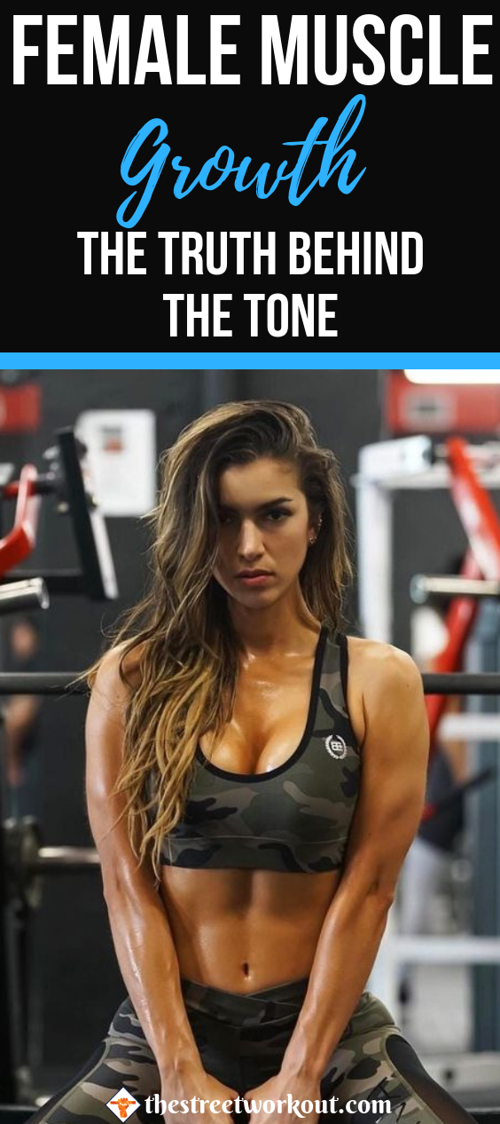 Female Muscle Growth; The Truth Behind the Tone | #WeightLoss ...