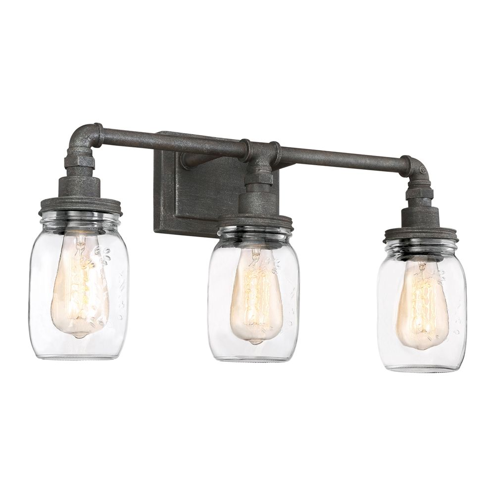 Shop quoizel sqr8603rk squire 3 light bathroom light at lowes shop quoizel squire 3 light bathroom light at lowe canada find our selection of bathroom vanity lighting at the lowest price guaranteed with price match aloadofball Gallery