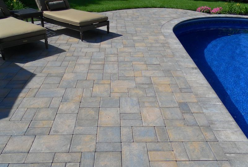 toffee onyx lite pavers - Google Search | driveway | Pool pavers