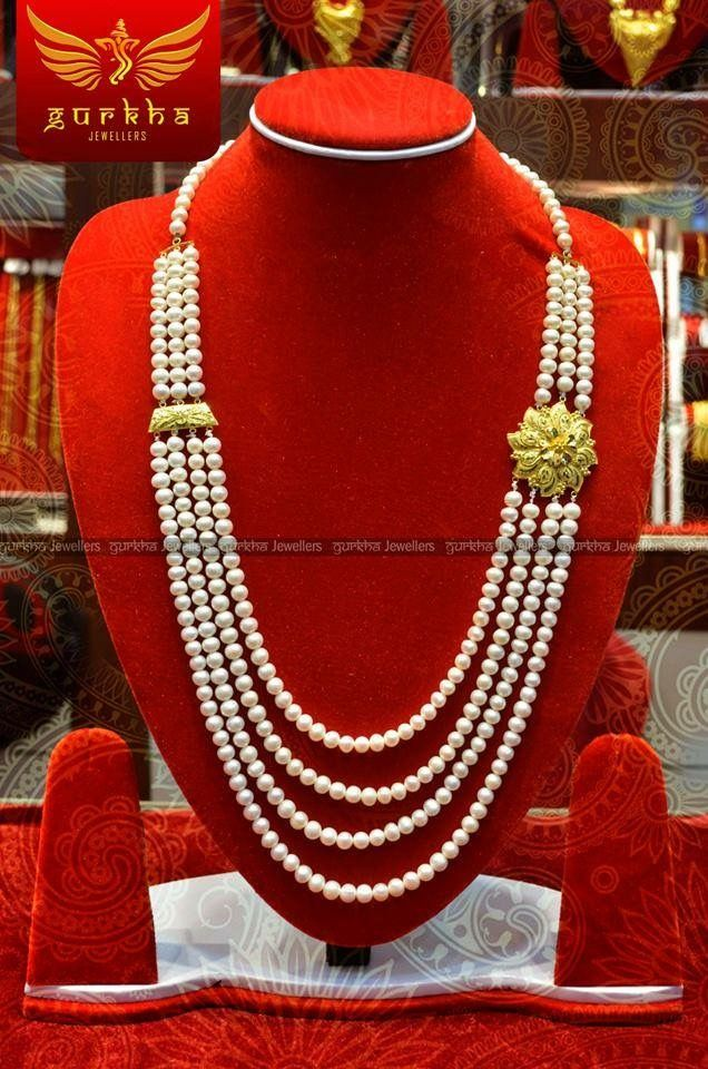 Pin by Sonal Thapa on Gold jewellery | Pinterest | Gold jewellery ...