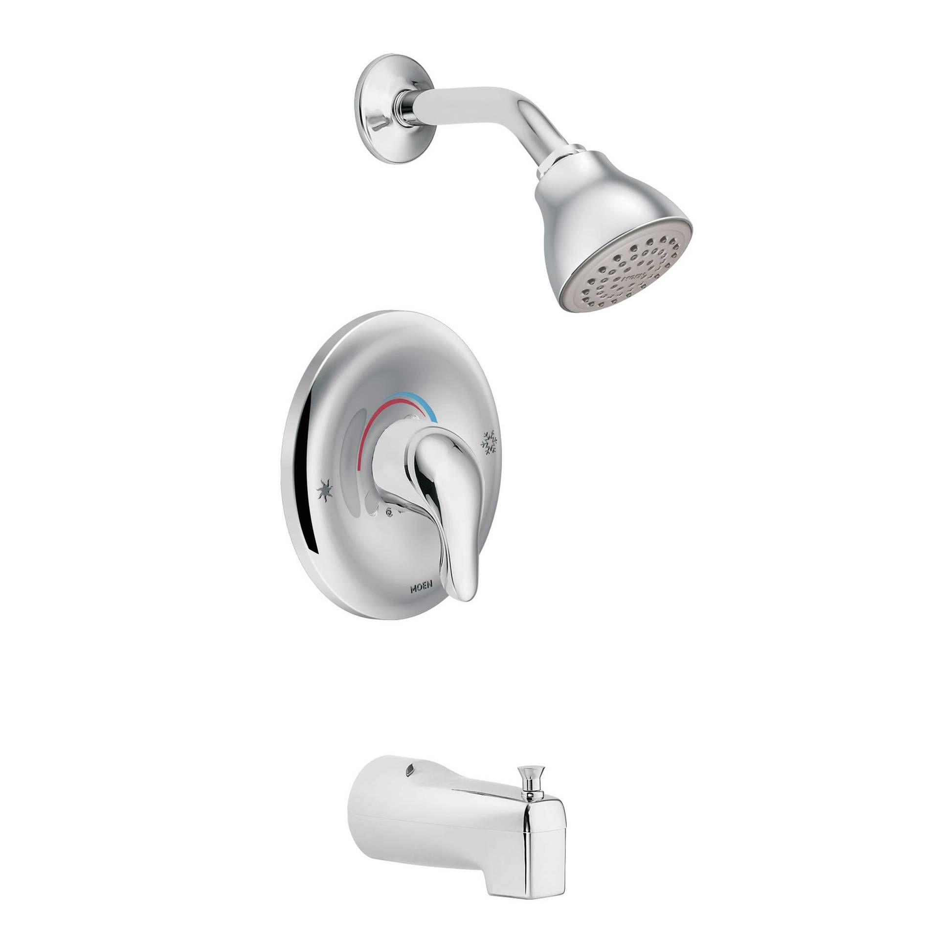 Moen Chateau Posi Temp Tub And Shower Shower Faucet Sets