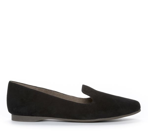 Nilson Shoes Ballerinaskor TAMARIS, ROWAN Mocka Svart