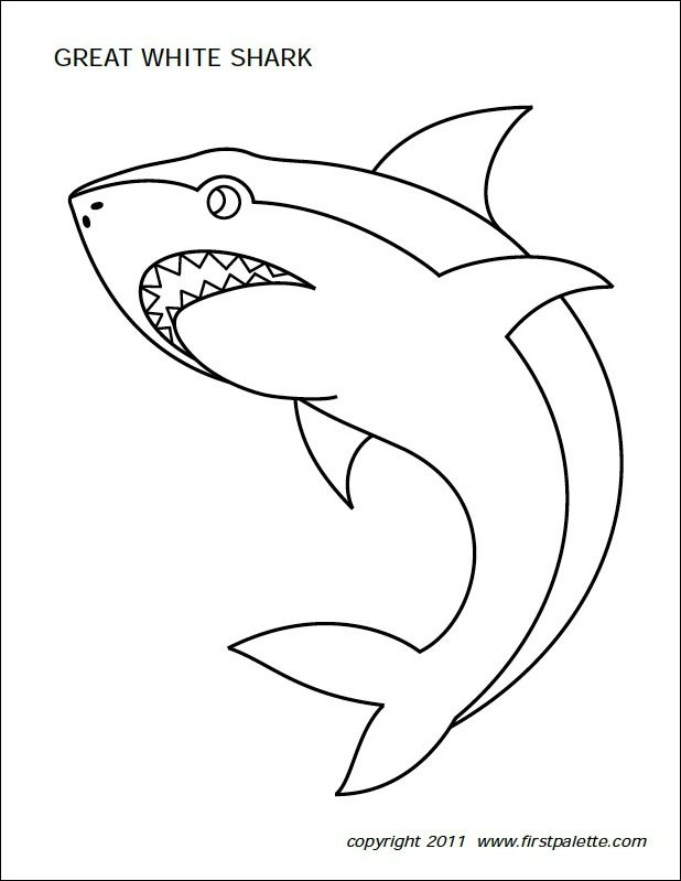 Freebie Friday 10 Free Shark Printables baby 1st