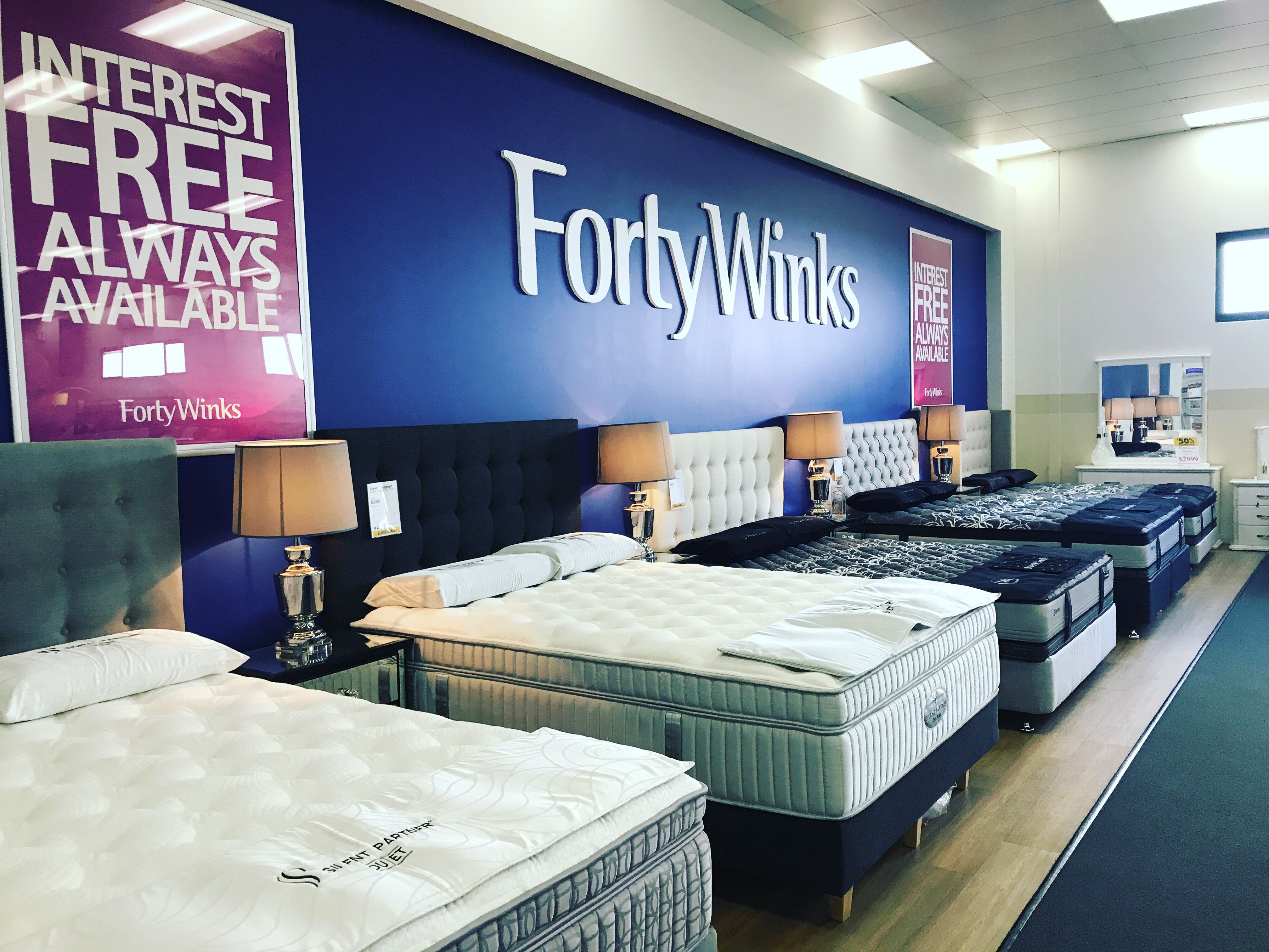 find your perfect mattresses at forty winks busselton forty winks