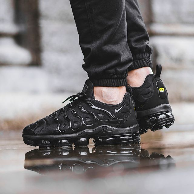 ce3790ccc8 The NIKE AIR VAPORMAX PLUS lands next week in these classic Cargo Khaki and  Triple Black