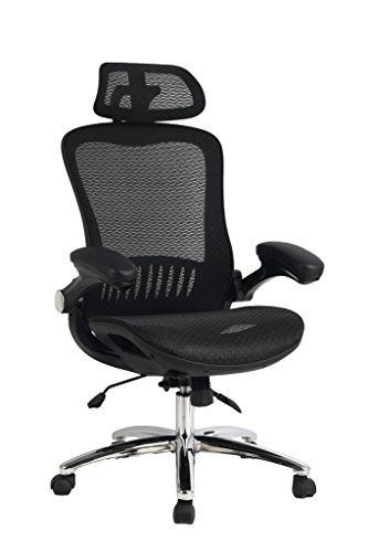 Genial VIVA OFFICE High Back Mesh Executive Chair With Adjustable Headrest And  Padded FlipUp Arms * Visit The Image Link More Details. Note:It Is  Affiliate Link To ...