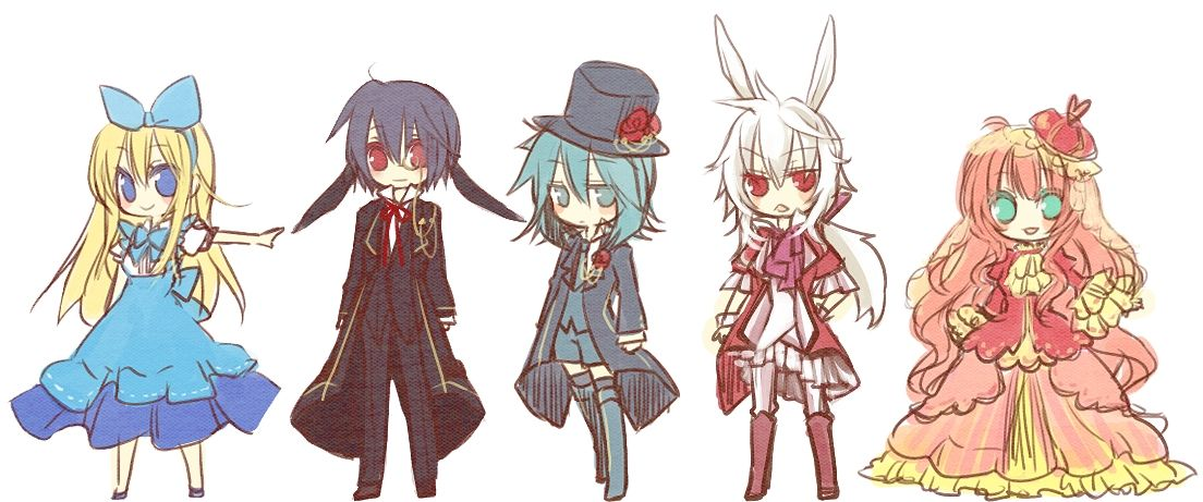 March 3 Anime Characters : Chibi march hare tags anime alice wonderland queen