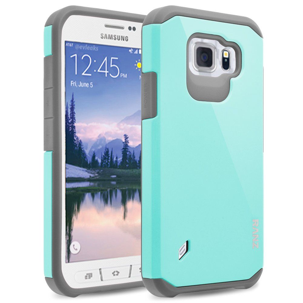 reputable site 5cc89 cac8c Amazon.com: S6 Active Case, Galaxy S6 Active Case, RANZ® Grey with ...