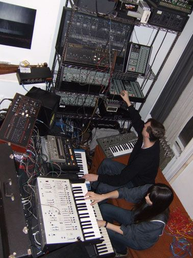Synth, Xeno & Oaklander, Martial Canterel, Brooklyn, nyc
