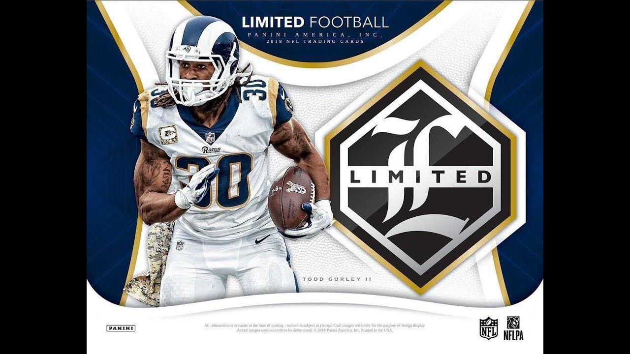 2018 limited football 4 x hobby box divisional break 001