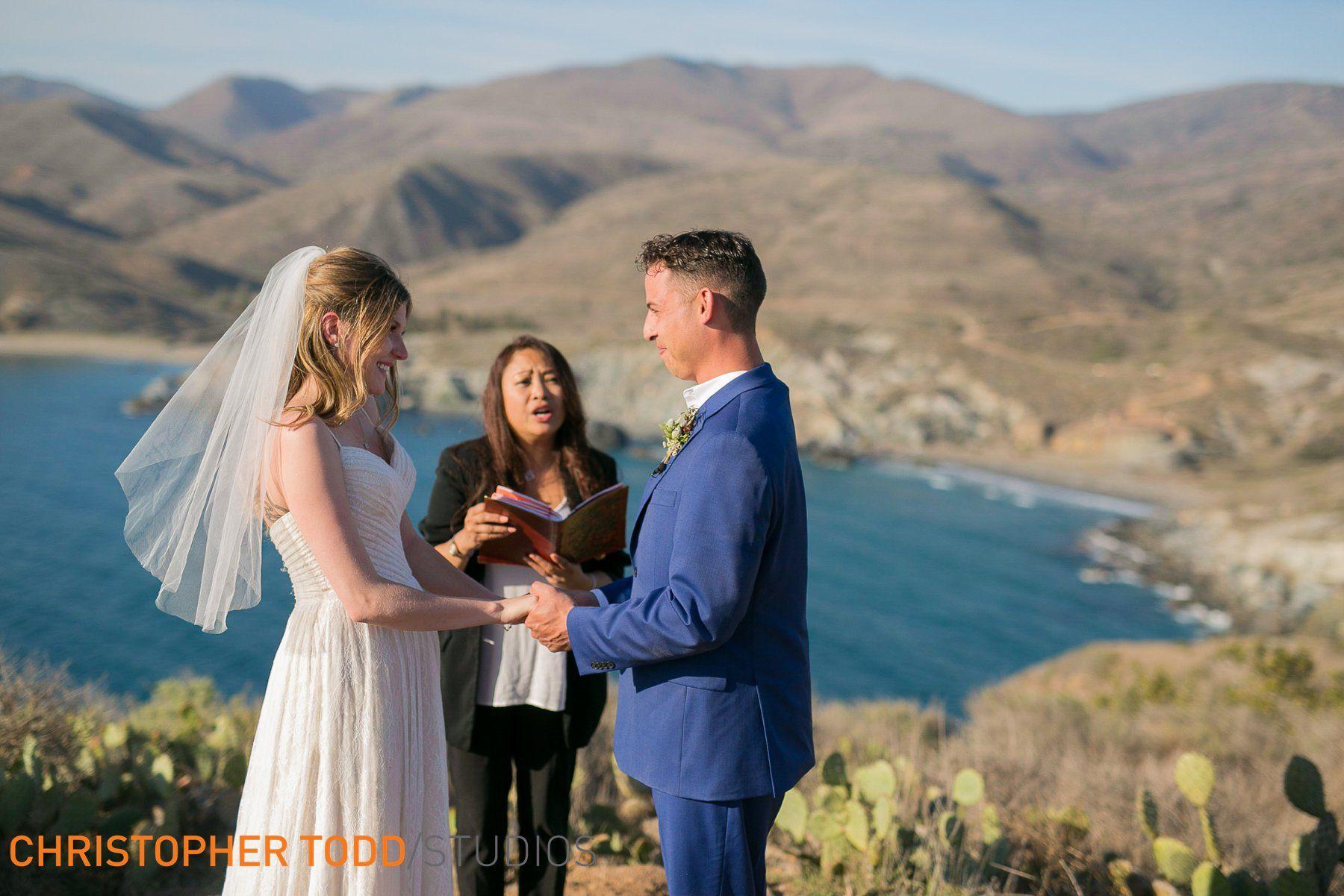 Catalina Island Elopement Wedding venues, Couple photos