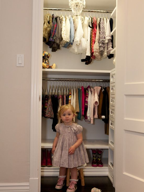 Beautiful Baby Closet Organizer Ideas: Modern Functionally And Beautifully  Kids Closet With Cabinets In A