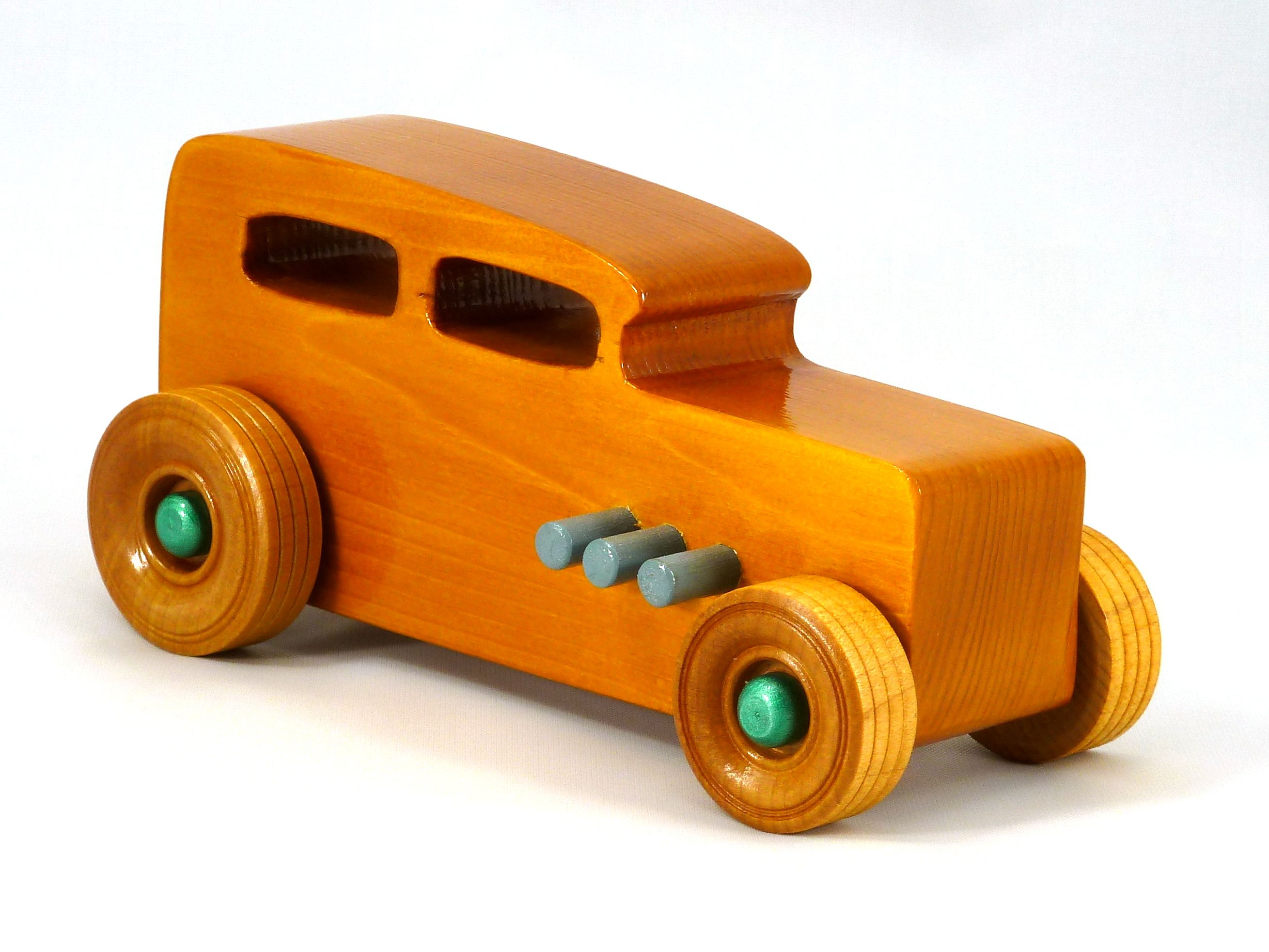 Toys car kids  Handmade Handcradted Wooden Toy Car Hot Rod Freaky Ford  Ford