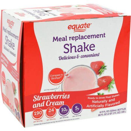 equate strawberry weight loss shake reviews