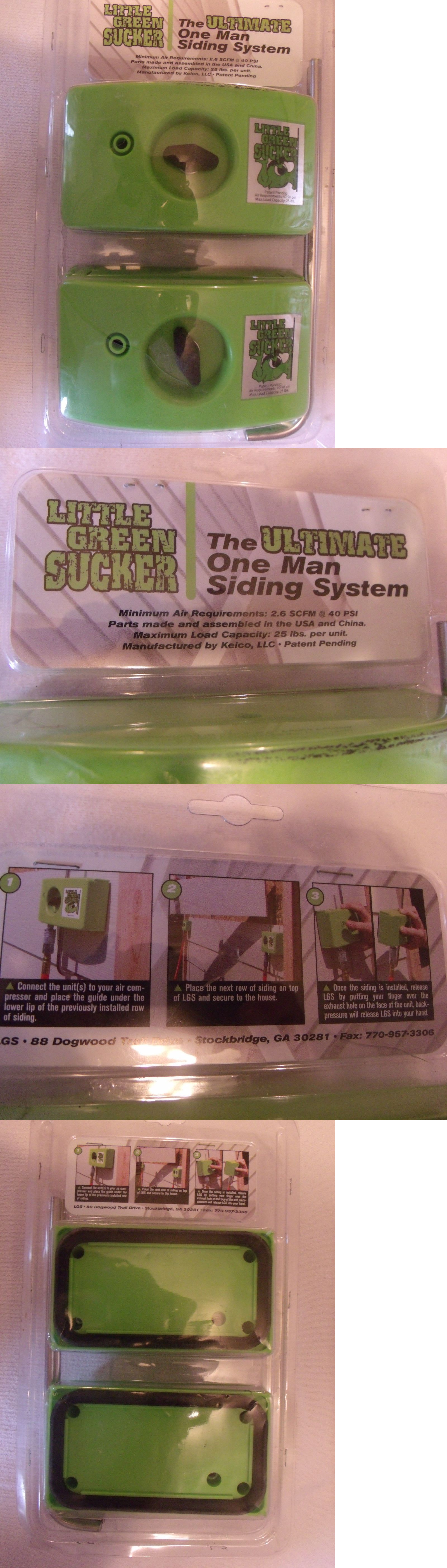 Little Green Sucker Hardie Siding And Trim Gauges New One Man Siding System Hardie Siding Fiber Cement Siding Installation Siding