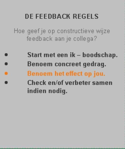 Citaten Over Feedback : Feedback regels supervisie pinterest communicatie