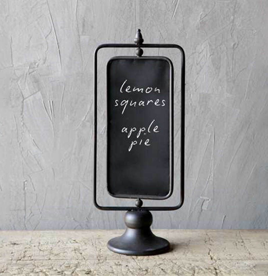 Metal Two Sided Swivel Chalkboard Stand Small Chalkboard Signs Small Chalkboard Chalkboard Stand