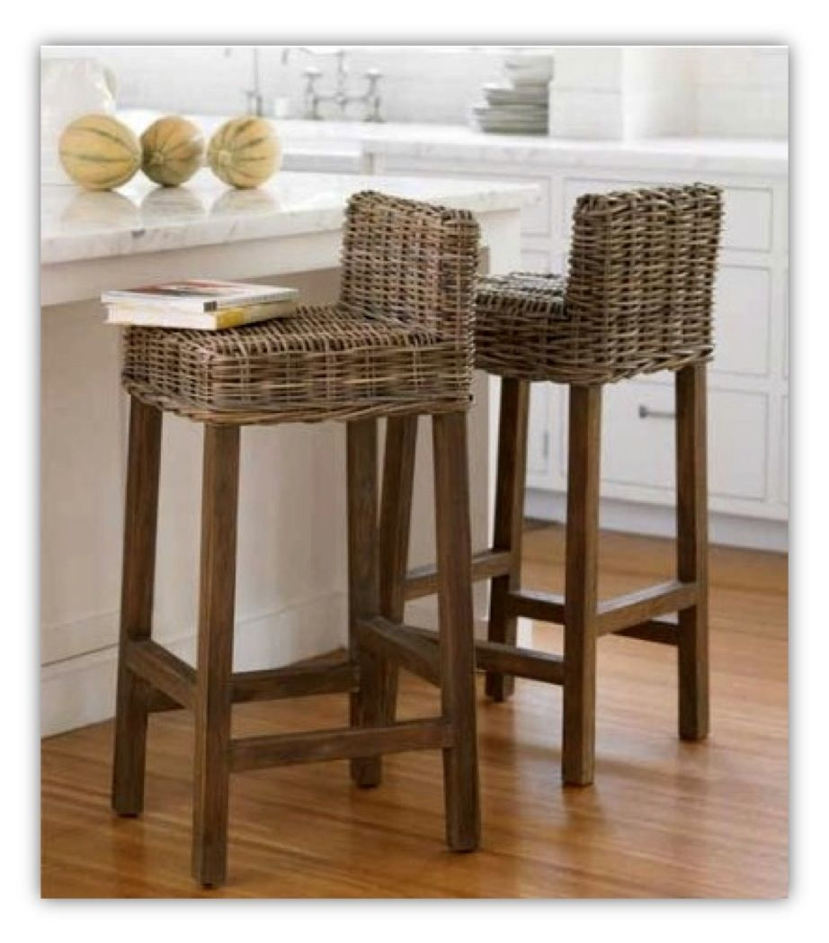 Unique Models Of Wicker Bar Stools For Indoor And Outdoor Usage Eco Friendly Wood Flooring With Home Decor Pinterest