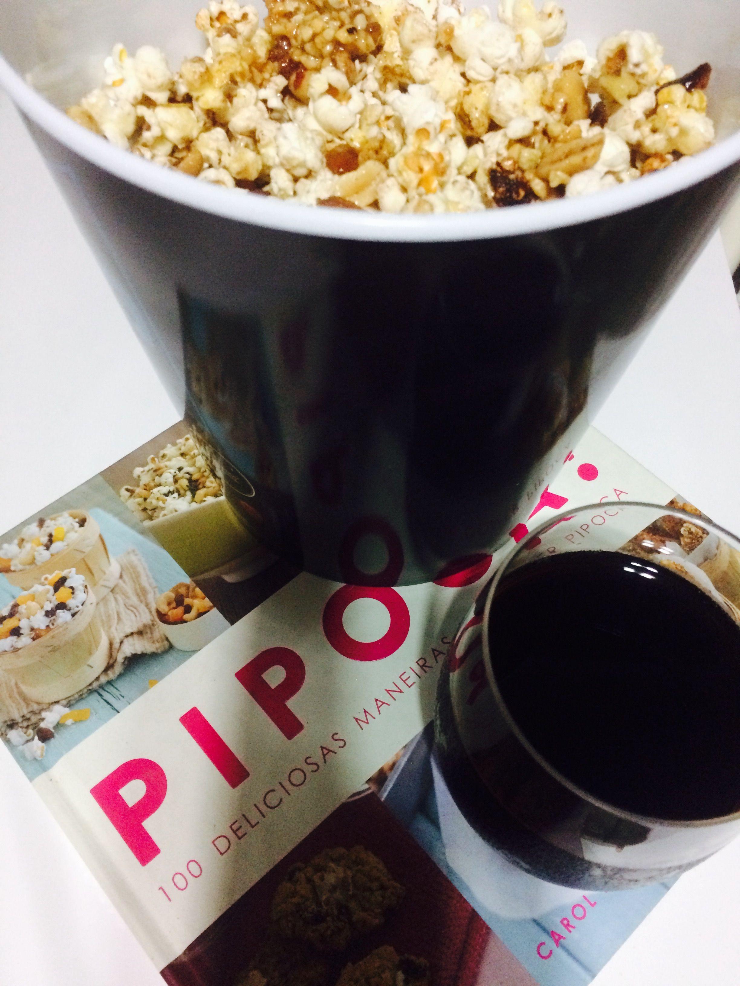 Pipoca com sabor e filmes 🎥