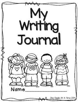Writing Journal | Kindergarten writing journals, First grade ...