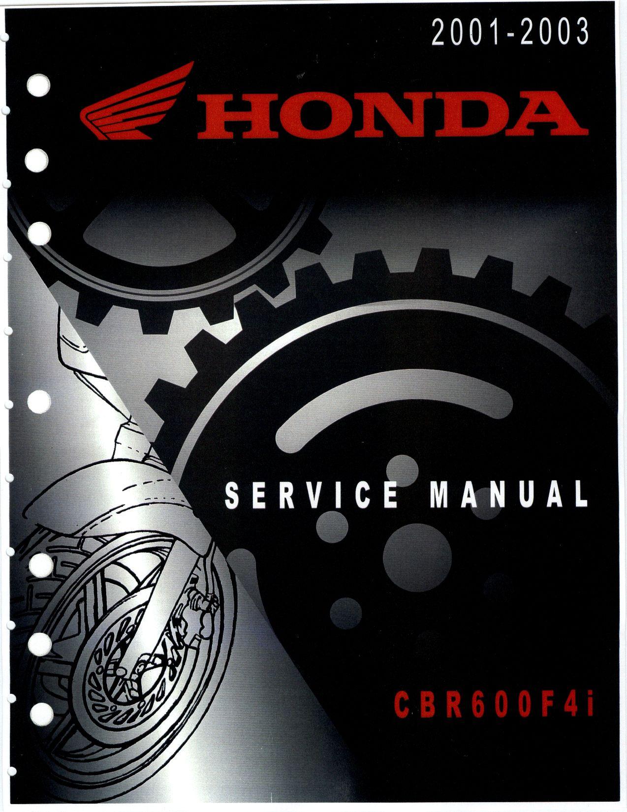 Honda Cbr 600 F4i 2001 2003 Repair Manual Pdf Download Service Manual Repair Manual Pdf Download Repair Manuals Honda Cbr 600 Honda Cbr