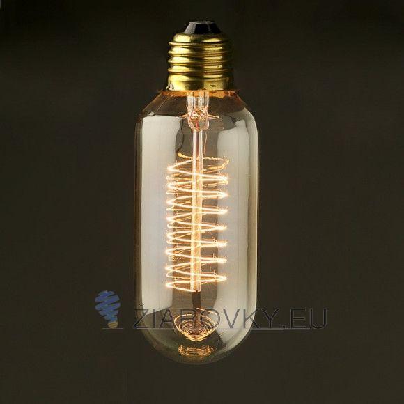 EDISON žiarovka – SPIRAL je rúrkového vzhľadu a poskytuje krásne kultivované svetlo s perfektnou reprezentáciou farieb. Žiarovka dokáže vykúzliť fantastické osvetlenie pre zlepšenie nálady. Vďaka štandardnej pätici E27 ju môžete použiť do akéhokoľvek lustra, lampy ktorá má túto päticu. Vďaka svojmu dizajnu sviečky sa táto žiarovka hodí ako diskrétne efektné osvetlenie na večerné posedenie.