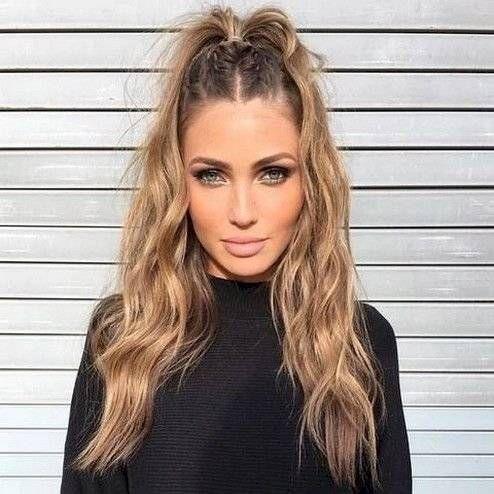 Сharming peinados con pelo rizado Fotos de tendencias de color de pelo - Peinados para cabello ondulado que puedes hacer en 10 ...