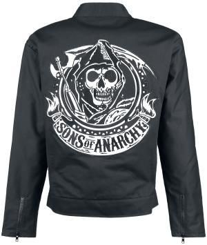 Rip Through Adult Crewneck Sweatshirt Sons Of Anarchy
