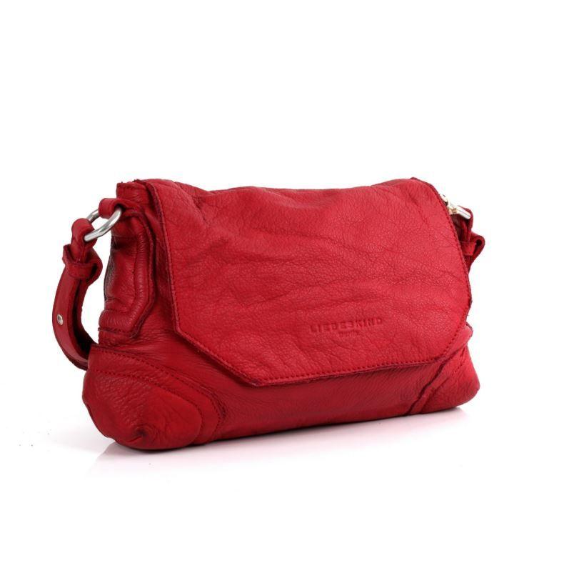 8080a1d455cae  LIEBESKIND Berlin - Saporo Vintage  Überschalgtasche Cherry Blossom Red