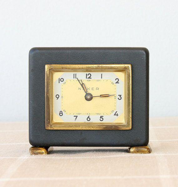 Vintage Musical Alarm Clock German Musical By Vintagecorner42