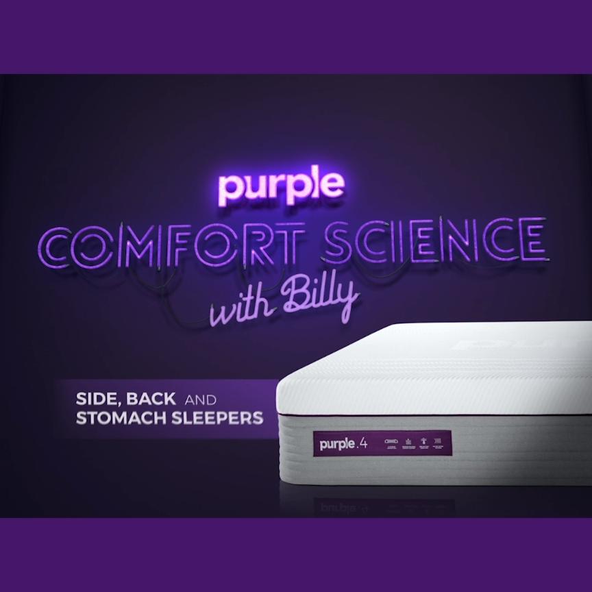 Shop Mattresses Best Mattress Of 2020 Purple Video Video Purple Mattress Mattress Shop Mattress