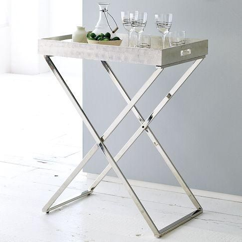 Suzie: Tables   Tall Butler Tray Stand | West Elm   Tall, Butler,