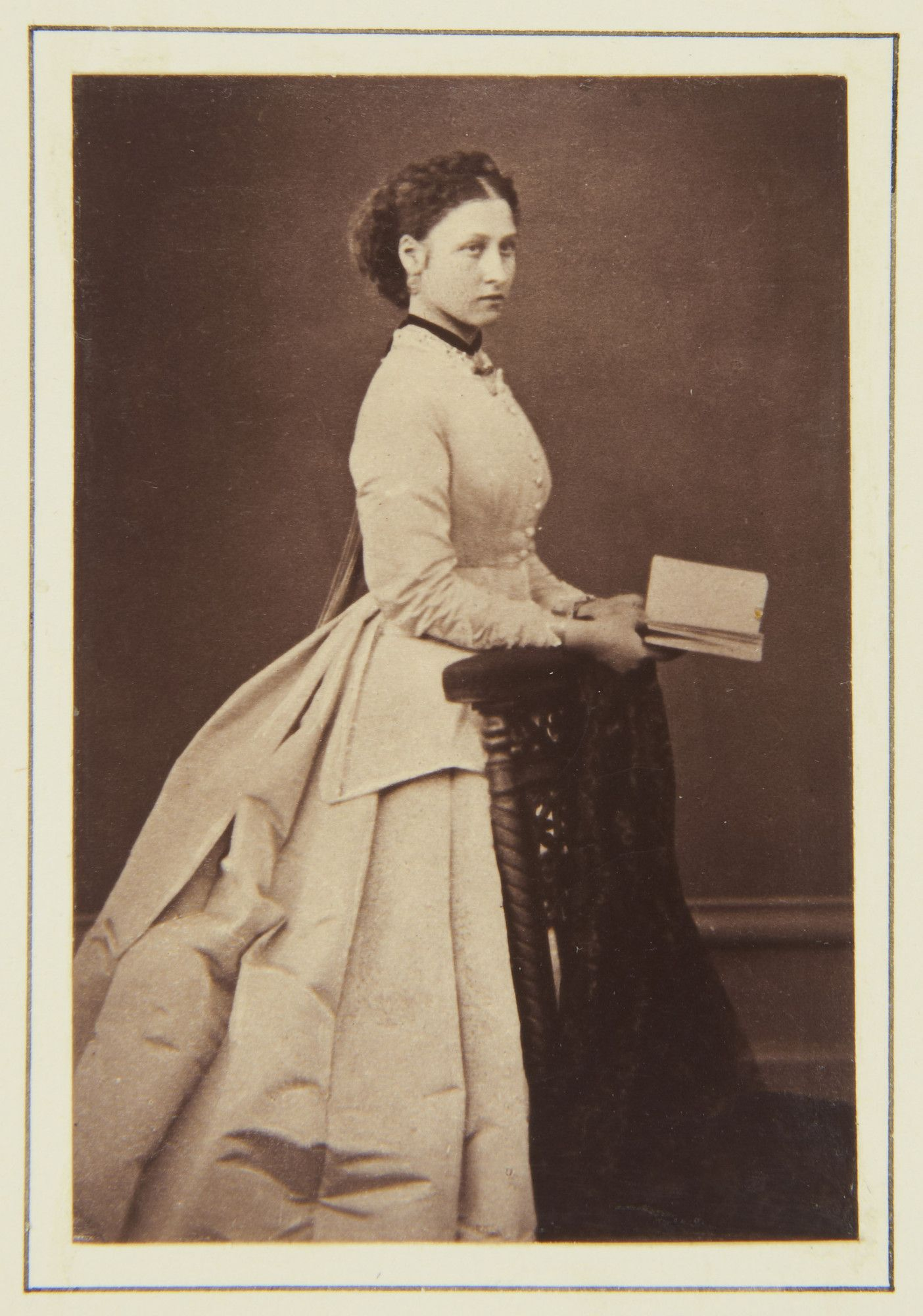 Princess Louise, April 1867 [in Portraits of Royal Children Vol.10 1866-67]   Royal Collection Trust