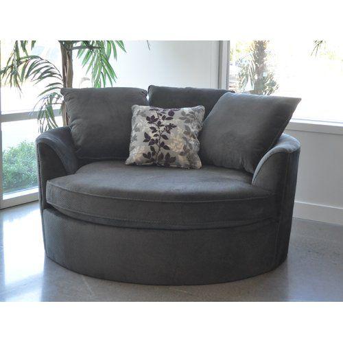 Found It At Wayfair Roquefort Cuddler Barrel Chair Cuddler Chair Chair A Half Furniture