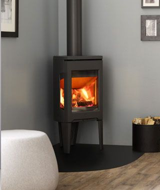 Pin On Home, Small Corner Faux Fireplace