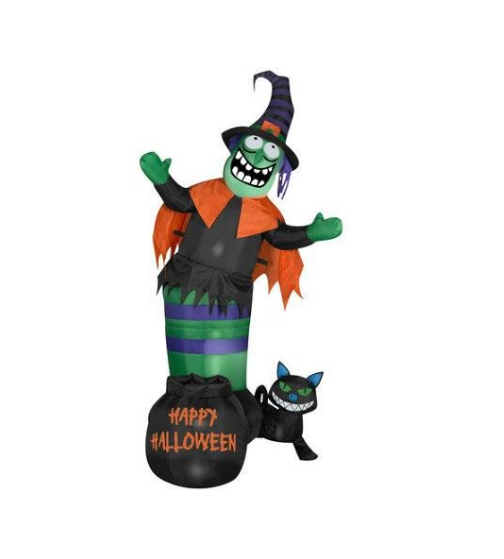 gemmy industries animated wobbling witch scene halloween decoration - Www Gemmy Com Halloween