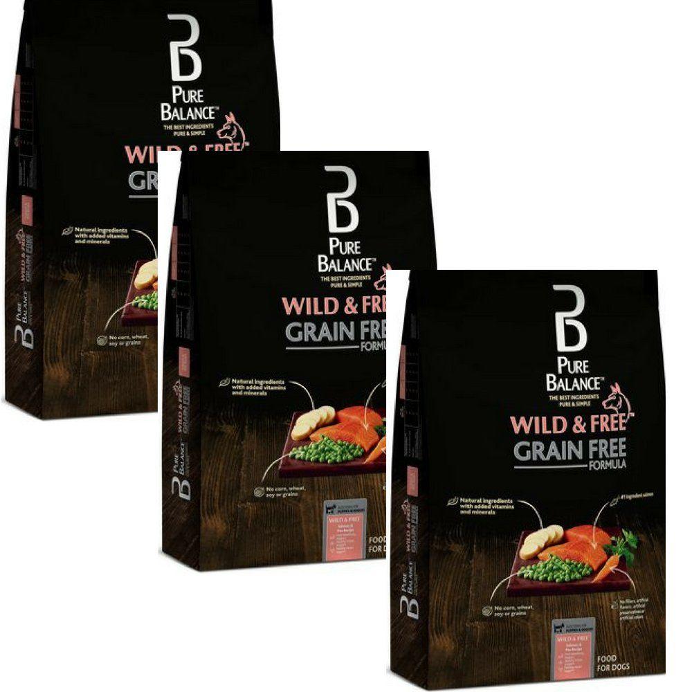 Pure Balance 24 Pounds Grain Free Formula Natural Salmon And Pea