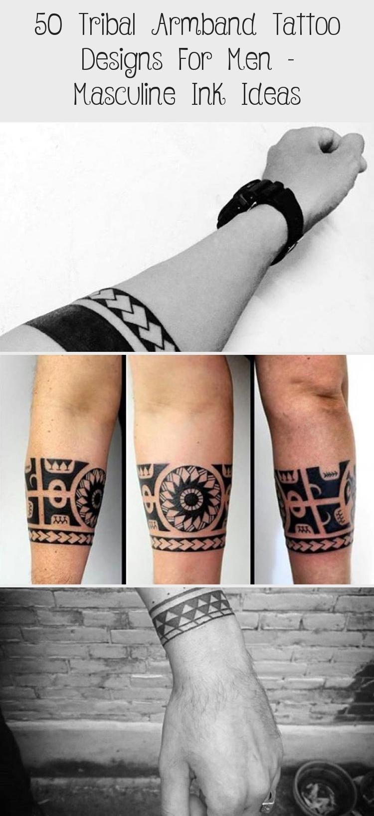50 Tribal Armband Tattoo Designs For Men Masculine Ink Ideas Tattoos And Body Art In 2020 Tribal Armband Tattoo Hand Tattoos Simple Hand Tattoos