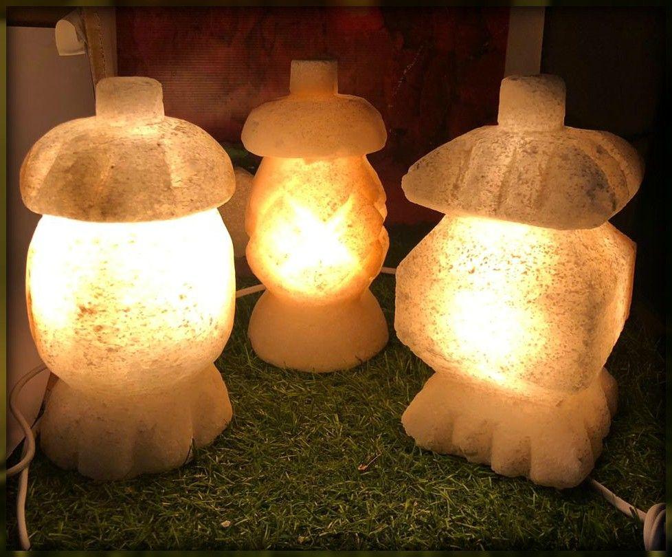 اختفل برمضان واستمتع بصحة افضل لاسرتك مع فانوس رمضان من الملح الصخرى هاند ميد من سيوة يحتوي على أكثر من 84 معدنا نادرا أهمها الك Paper Lamp Novelty Lamp Lamp